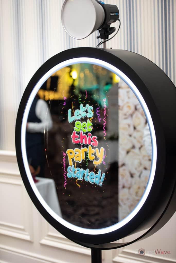 Beauty Mirror Photo Booth Buffalo NY
