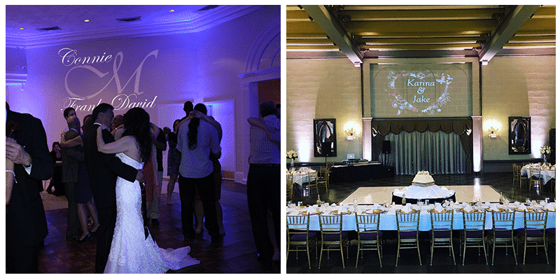 Professional Wedding Reception Lighting